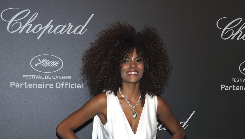 Tina Kunakey - Photocall de la soirée Chopard Space lors du 70ème Festival International du Film de Cannes, France, le 19 mai 2017. © Borde-Jacovies-Moreau/Bestimage