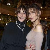 "Carla Bruni : Retrouvailles avec sa ""petite soeur"" Bella Hadid à Cannes"