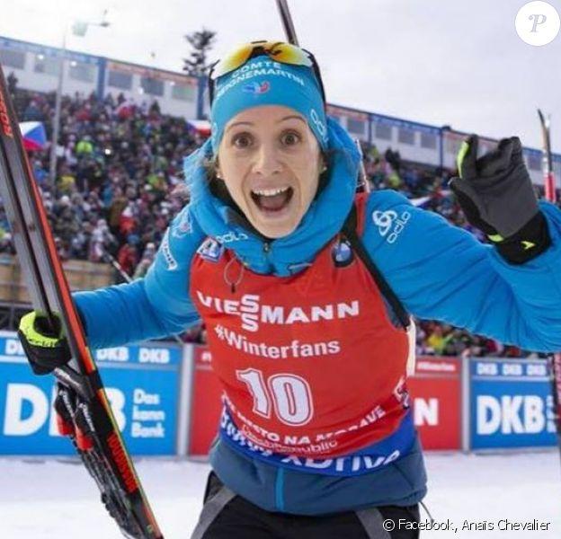 Anaïs Chevalier le 17 mars 2019.