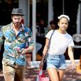 Christina Milian et M. Pokora sont allés faire des courses chez Fred Segal à West Hollywood, le 11 mai 2019.