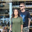 "Christina Milian et M. Pokora font du shopping chez ""Wally's"" à Beverly Hills. Los Angeles, le 15 novembre 2018."