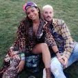 M. Pokora et Christina Milian au festival de Coachella. Instagram, avril 2018.
