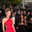"""Bella Hadid - Montée des marches du film """"Douleur et Gloire"""" lors du 72ème Festival International du Film de Cannes. Le 17 mai 2019 © Jacovides-Moreau / Bestimage"""
