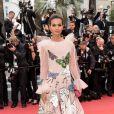 """Liya Kebede - Montée des marches du film """"Douleur et Gloire"""" lors du 72ème Festival International du Film de Cannes. Le 17 mai 2019 © Jacovides-Moreau / Bestimage  Red carpet for the movie """"Dolor y Gloria"""" during the 72nd Cannes International Film festival. On may 17th 201917/05/2019 - Cannes"""