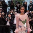 """Liya Kebede - Montée des marches du film """"Douleur et Gloire"""" lors du 72ème Festival International du Film de Cannes. Le 17 mai 2019 © Borde / Bestimage"""