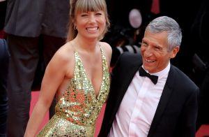 Calogero et sa compagne face à Nagui et sa femme, love sur tapis rouge à Cannes
