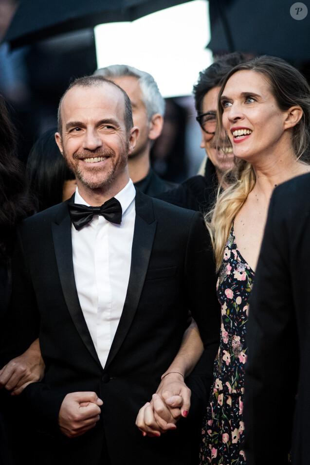 """Calogero et sa compagne Marie Bastide - Montée des marches du film """"Les plus belles années d'une vie"""" lors du 72ème Festival International du Film de Cannes. Le 18 mai 2019 © Jacovides-Moreau / Bestimage"""