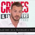 """Julien Bert invité dans """"Crimes et faits divers"""", le 14 mai 2019, sur NRJ12"""