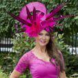 Lizzie Cundy au Royal Ascot le 16 juin 2016
