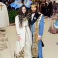 Lana Del Rey, Jared Leto - Les célébrités arrivent à l'ouverture de l'exposition Heavenly Bodies: Fashion and the Catholic Imagination à New York, le 7 mai 2018