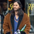 Exclusif - Jared Leto dans les rues de New York, le 27 avril 2019.