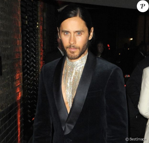 "Jared Leto - Arrivées à l'afterparty Warner des ""BRIT Awards"" au Chiltern Firehouse à Londres. Le 20 février 2019"