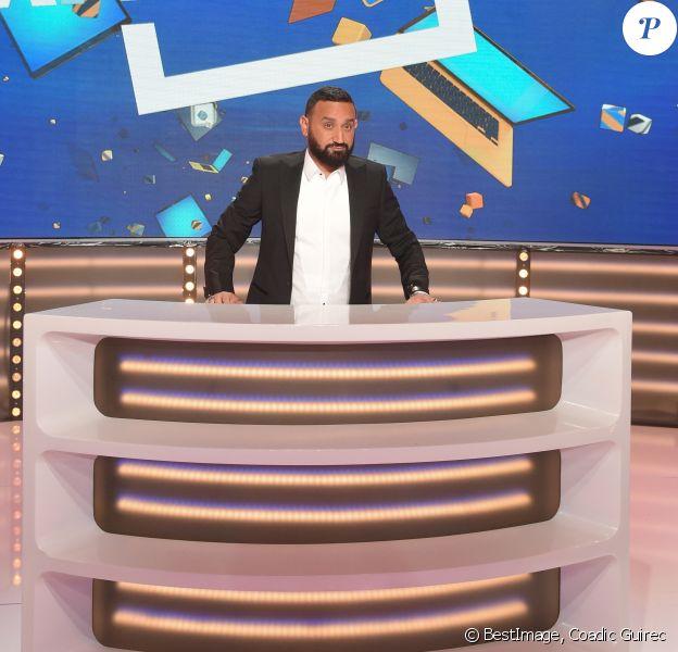 """Exclusif - Cyril Hanouna sur le plateau de la nouvelle formule de l'émission """"Touche Pas à Mon Poste (TPMP)"""" à Boulogne-Billancourt, France, le 30 août 2018. © Coadic Guirec/Bestimage"""