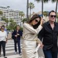 Exclusif - Quentin Tarantino et sa femme Daniella Pick arrivent à la cérémonie des Palm Dog lors du 72ème Festival International du film de Cannes, France, le 24 mai 2019.  Exclusive - For Germany Call For Price - Quentin Tarantino and his wife Daniella Pick arrive at the Palm Dog ceremony during the 72nd annual Cannes Film Festival in Cannes, France on May 24, 2019.24/05/2019 - Cannes