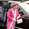 Elizabeth II au Royal Ascot. 17/06/09