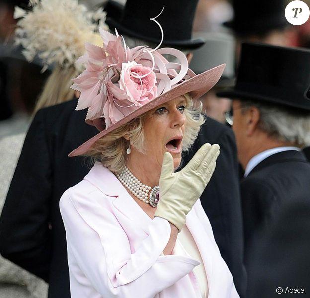 Camilla au Royal Ascot. 17/06/09