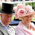 Prince Charles et Camilla au Royal Ascot. 17/06/09