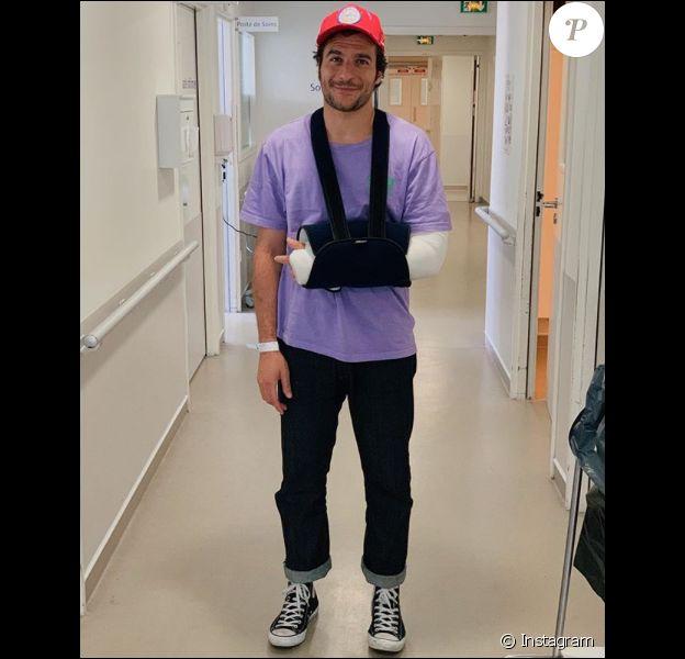 Amir à l'hôpital d'Aubagne le 26 mai 2019.