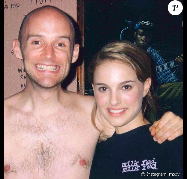 Moby et Natalie Portman, l'idylle de la discorde, sur Instagram, le 22 mai 2019.