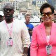 Kris Jenner et son compagnon Corey Gamble - People au Grand Prix de Formule 1 de Monaco. Le 26 mai 2019