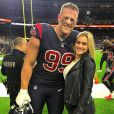 J. J. Watt des Houston Texans (NFL) a demandé en mariage sa compagne Kealia Ohai en mai 2019. Photo Instagram du 26 octobre 2018.