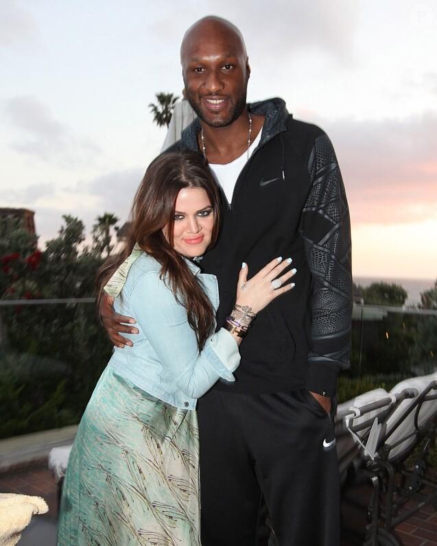 Khloe et Lamar en 2010 lors d'un week-end à Laguna Beach