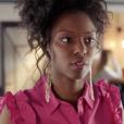 """Gwen (Sandrine Salyères) dans """"Demain nous appartient"""" sur TF1."""