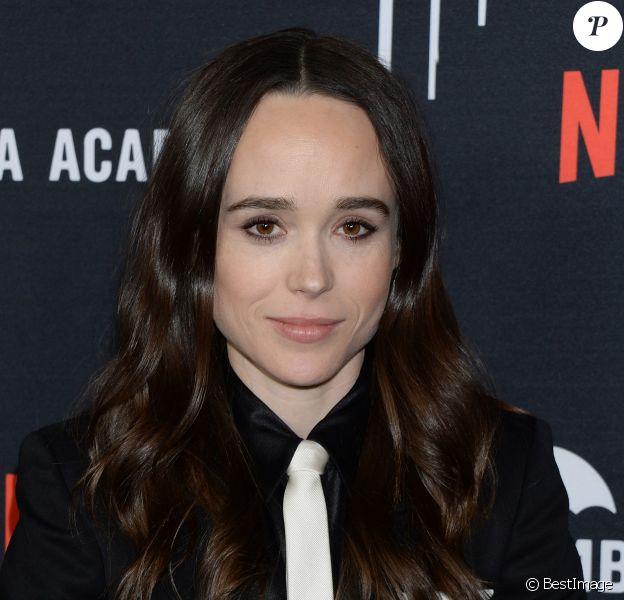 Ellen Page à la première de The Umbrella Academy Season 1 aux cinémas ArcLight à Hollywood, Los Angeles, le 12 février 2019