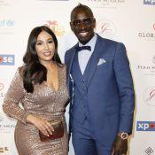 Mamadou Sakho sur son 31 pour une soirée parisienne, sa femme Majda scintillante