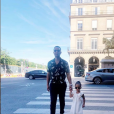 John Legend, ses enfants et sa femme Chrissy Teigen.