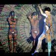 """Viktoria Modesta lors de la premiére du spectacle """"Bionic Showgirl"""" au Crazy Horse à Paris le 3 juin 2019."""