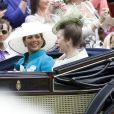 Meeting royal d'Ascot 2009 : la princesse Haya Bint al hussein et la princesse Anne