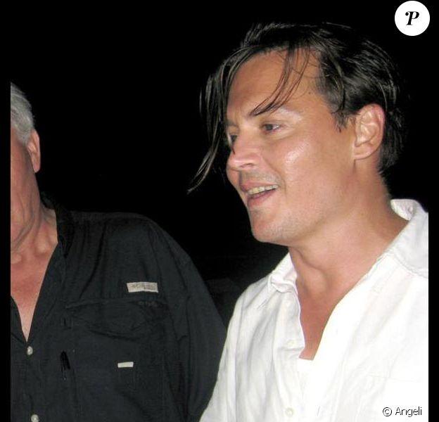 """Johnny Depp, lors de son 46e anniversaire à Porto Rico, sur le tournage de """"Rum Diary"""", en juin 2009 !"""