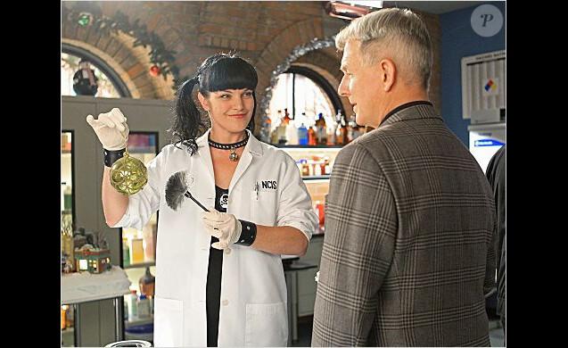 Abby et Gibbs dans NCIS
