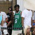 Ronaldinho au Nikki Beach de Miami, juin 2009