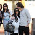 Kourtney Kardashian et Scott Disick à Beverly Hills, le 10 décembre 2009.