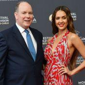 Jessica Alba et Albert de Monaco ouvrent en beauté le Festival de Monte-Carlo