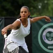 Alesha Dixon : elle a troqué son micro... contre une raquette de tennis !