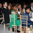 """Exclusif - Serena Williams et son mari Alexis Ohanian lors du dîner du gala de charité de l'Académie de tennis Mouratoglou afin de récolter des fonds pour la fondation """"Champ'Seed"""" à Biot le 23 juin 2019. © Philippe Brylak/Bestimage"""