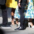 Denzel Washington et sa femme Pauletta - Les célébrités arrivent à la réception du mariage de Zoe Kravitz et Karl Glusman dans la maison de Lenny Kravitz à Paris, France, le 29 juin 2019.