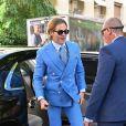 Chris Pine - Les célébrités arrivent à la réception du mariage de Zoe Kravitz et Karl Glusman dans la maison de Lenny Kravitz à Paris, France, le 29 juin 2019.