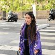 Lisa Bonet, la mère de Zoe Kravitz - Les invités de Zoe Kravitz et de son mari Karl Glusman arrivent au restaurant Lapérouse à Paris pour leur Pre Wedding Party le 28 juin 2019.