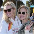 Kirsten Dunst et Kristen Bell : complices.. jusqu'au bout des  lunettes !