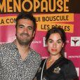 """Exclusif - Alex Goude et Manon Romiti - Photocall du spectacle """"Ménopause"""" au Théâtre de la Madeleine à Paris. Le 29 juin 2019 © Coadic Guirec / Bestimage"""