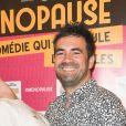 """Exclusif - Adeline Blondieau et Alex Goude - Photocall du spectacle """"Ménopause"""" au Théâtre de la Madeleine à Paris. Le 29 juin 2019 © Coadic Guirec / Bestimage"""