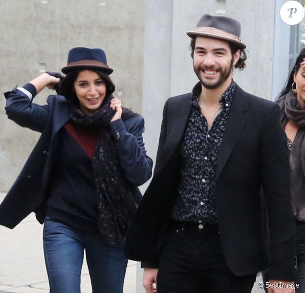 Leila Bekhti et Tahar Rahim à Lyon, le 19 octobre 2013, dans le cadre du Festival Lumiere.