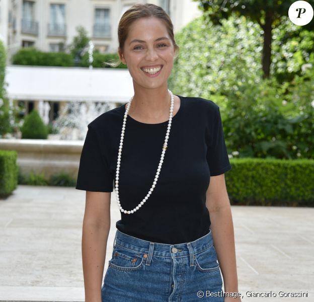 Marie-Ange Casta - Cocktail du créateur de bijoux David Yurman au Ritz à Paris, le 1er juillet 2019. © Giancarlo Gorassini/Bestimage
