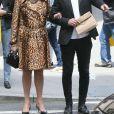 Exclusif - Ivana Trump et Rossano Rubicondi se baladent en amoureux dans les rues de New York, le 14 mai 2018
