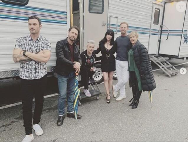 La série culte des années 1990 Beverly Hills 90210 revient le 7 août 2019 sur la chaîne Fox sous le nom de BH90210.