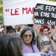 Rassemblement contre les violences faites aux femmes, Place de la République à Paris. Le 6 juillet 2019 © Stephen Caillet / Panoramic / Bestimage